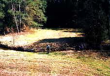 Geländeaufnahme im März 2004