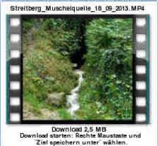 """Das """"Schneiderloch"""" an der Muschelquelle in Streitberg in hydrologisch inaktiven Zustand und mit temporär aktiven Höhlenbach am 18.09.2013."""