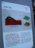 """Schautafel  """"Silbersee""""; Info-System Reichsparteitagsgelände Nürnberg"""