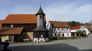 Dorfkern von Birkenreuth/Ofr.
