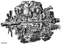 Flugzeugmotor BMW 801
