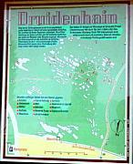 """Plan des """"Druidenhains"""""""