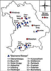 Steinerne Rinnen in Bayern