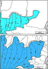 Grundwassergleichen d. Dogger- u. Malm-Aquifers am Erasbacher Berg