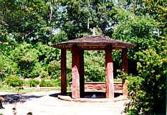 der Trinkpavillion der Espan-Quelle