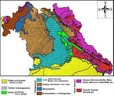 geol. Karte von Nordbayern