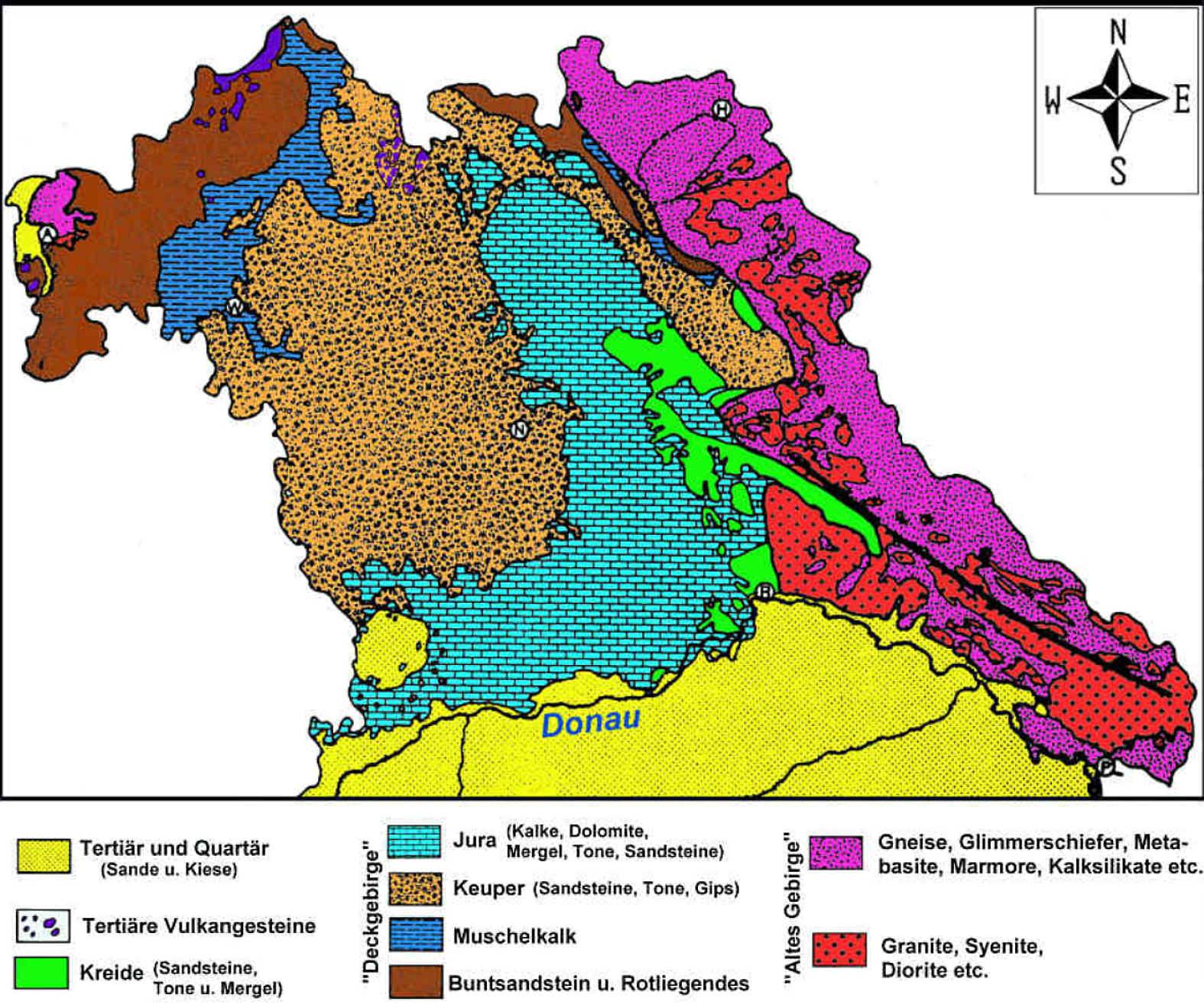 geologische karte bayern Zur Geologie des Fichtelgebirges