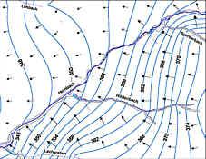 Strömungsmodell des Grundwassers im Hembachgebiet