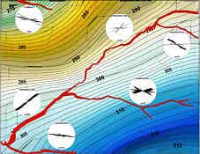 tektonisch vorgezeichnete Talverläufe im Hembachgebiet