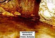 unterirdisches Karstgerinne in der Nördlichen Frankenalb