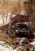 Kalktuffterrassen der Lillach bei Weissenohe
