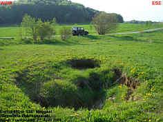 Erdfall bei Moggast, (Gemeinde Ebermannstadt, N�rdl. Frankenalb)