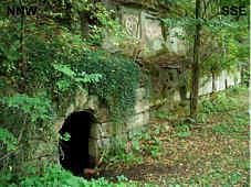 "Eingang zur ""St. Wolfgangs-Felsenkapelle"""