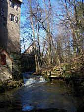 Gauchsbach bei Schloss Kugelhammer (Ldkr. Roth)