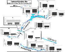 Messwerte des Sauerstoffgehaltes und des Biologischen Sauerstoffbedarfes in Quell- u. Oberfl�chenw�ssern des Schwarzach-/Gauchsbachgebietes �stlich R�thenbach b. St. Wolfgang (Mfr.).