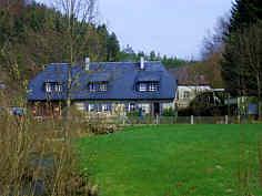 Die Heroldsmühle nördlich Heiligenstadt/Ofr.