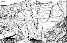 """Kluft- und Störungstektonik am """"Großen Tummler C 69"""" im Trockental der Leinleiter 900 m NNE´ der Heroldsmühle"""