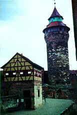 """Brunnenhaus d. """"Tiefen Brunnen"""" u. Sinwellturm"""