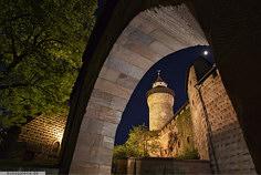Blick auf Walburgiskapelle und Sinwellturm auf der Burg zu Nürnberg