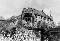 Kaiserburg vor dem II. Weltkrieg