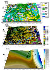 Geologisches und geomorphologisches Blockbild sowie Blockbild der Dogger-Malm-Grenze im Karstgebiet SE´ Neuhaus/Peg.