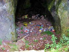 Eingangsbereich Teufelsberghöhle NNW´ Weidlwang