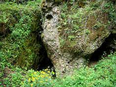 Eingangsbereich der Lichtengraben-Ponorhöhle