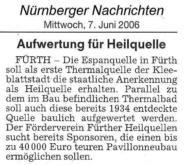 Nürnberger Nachrichten, 07. Juni 2006