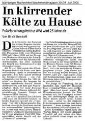 Nürnberger Nachrichten 30./31.07.2005