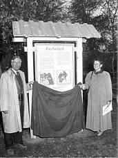 Eröffnung Schautafel Redwitzit