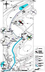Vermessungskarte des Trockentales nördlich Schirradorf/Ofr.