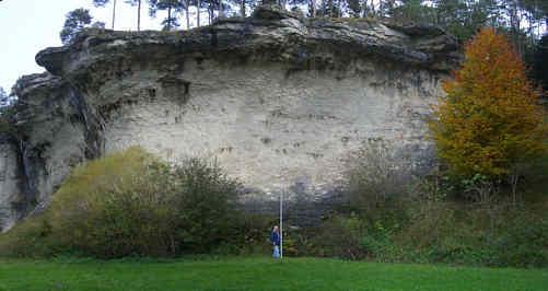 Schwalbenstein und Prophetenbrunnen im Trockental N' Schirradord