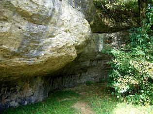 Abri Schinderbrunnen im Trockental N' Schirradorf/Ofr.