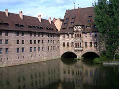 Heilig-Geist-Spital in Nürnberg