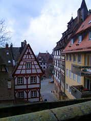 Mittelalterliche Bürgerhäuser in Nürnberg