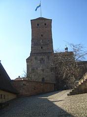 "Der ""Heidenturm"" der Kaiserburg zu Nürnberg"