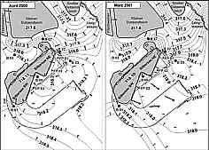 Flächenmodell Grundwasserströme 04/00 u. 03/01