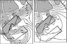 Flächenmodell Wassertemp. 09/99 u. 03/01