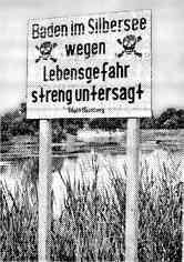 Warnschild ca. 1958