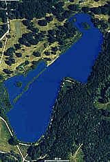 Satellitenbild Silberseegebiet