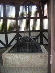 Brunnenkranz des Tiefen Brunnen in Birkenreuth