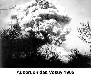 Vesuvausbruch 1905
