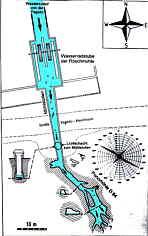 Höhlenplan d. Wasserberg-Ponorhöhle