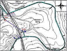 Hydrographie des Wasserberges